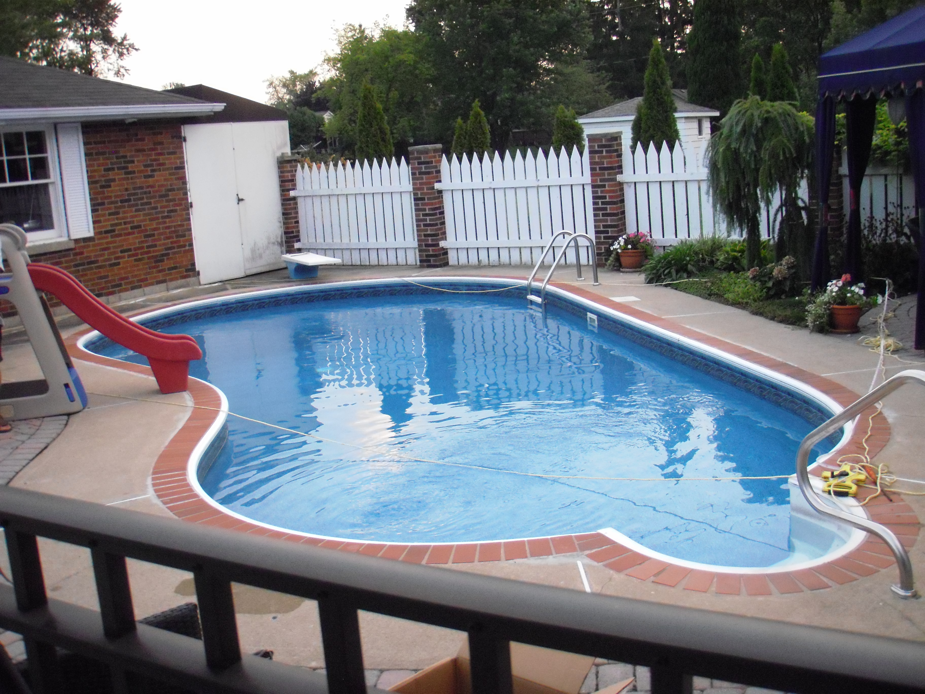 Perciballi pools spas for Pool renovations
